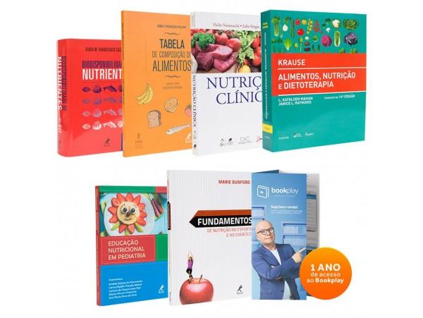 REF.11011 - Coleção de livros Nutrição