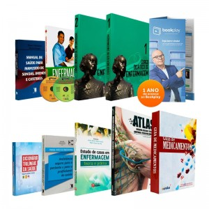 REF.11535 - Coleção de Livros Técnico de Enfermagem