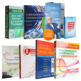 REF.11536 - Coleção de Livros Enfermagem / Fundamentos Potter