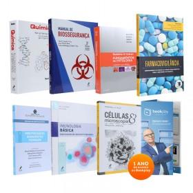 REF.13092 - Coleção de Livros Biomedicina