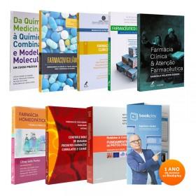 REF.13094 - Coleção de Livros Farmácia