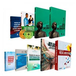 REF.14690 - Coleção de Livros Técnico de Enfermagem