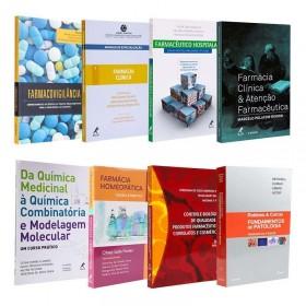REF.14694 - Coleção de Livros Farmácia