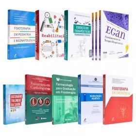 REF.14695 - Coleção de Livros Fisioterapia