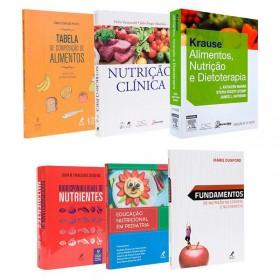 REF.14699 - Coleção de Livros Nutrição