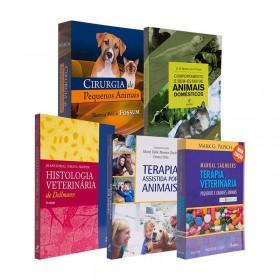 REF.14709 - Coleção de livros Veterinária Pequeno Porte