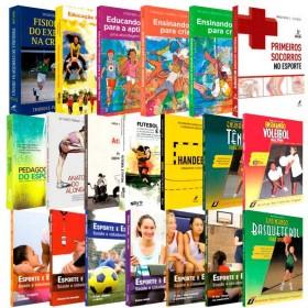 REF.14710 - Coleção de Livros Educação Física / Licenciatura
