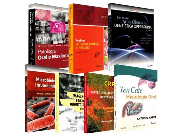 REF.14712 - Coleção de Livros Odontologia