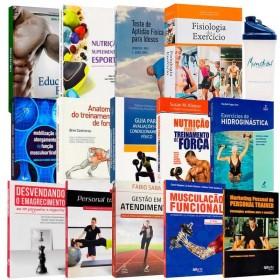 REF.14720 - Coleção de Livros Educação Física / Bacharel / Ideal para Trainers