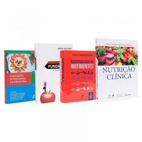 REF.14722 - Coleção de Livros Nutrição / Sem os livros Krause e Tabela de Composição