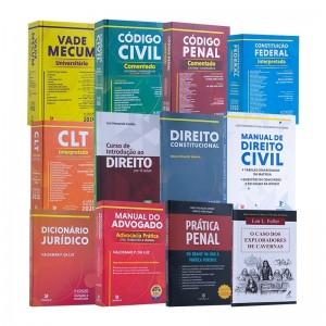 REF.14768 - Coleção de Livros Direito