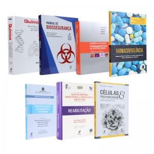 REF.15673 - Coleção de Livros Biomedicina