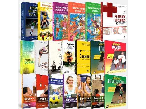 REF.5254 - Coleção de Livros Educação Física