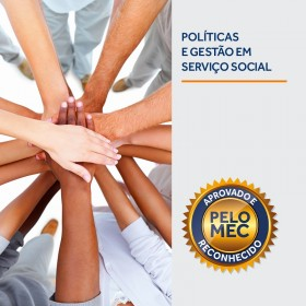 REF.5918 - Pós-Graduação em Políticas e Gestão de Serviço Social