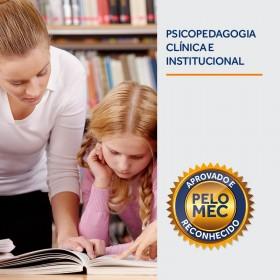 REF.5921 - Pós-Graduação em Psicopedagogia Clínica e Institucional