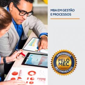 REF.7043 - Pós-Graduação em MBA em Gestão de Processos