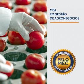 REF.7044 - Pós-Graduação em MBA em Gestão do Agronegócio