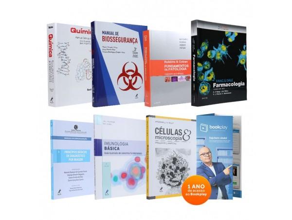 REF.9756 - Coleção de Livros Biomedicina